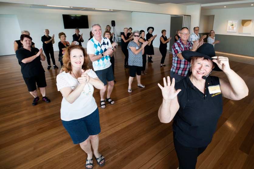 Halcyon Greens open day, March 2020. Dallas Linedancers. Picture: Renae Droop/RDW Photography